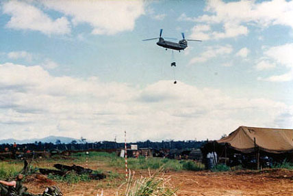 Resupply with CH47